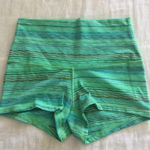 Lululemon high waisted shorts size 8